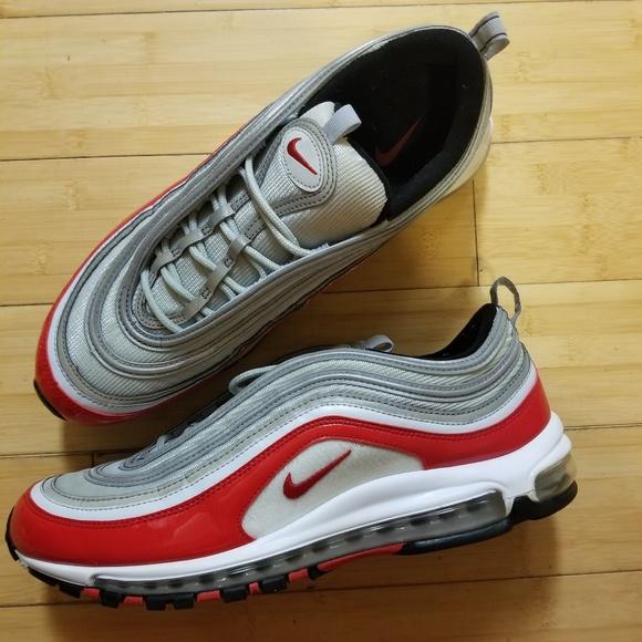 Nike Air Max 97 OG University Red Pure Platinum 921826 009